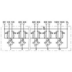 Sensorska/aktivatorska kutija aktivna M12 razdjelnik s metalnim navojem SACB- 8/4-L-10,0PUR-M8 1516124 Phoenix Contact 1 ST