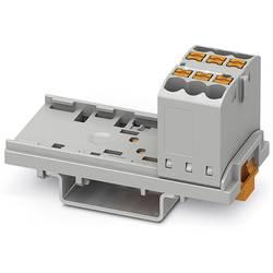 Phoenix Contact PTFIX 6X2,5-NS35 GY 3273000 Razdelilni blok 0.14 mm² 2.50 mm² Siva 10 KOS