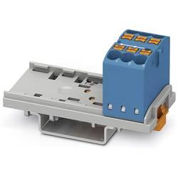 Phoenix Contact PTFIX 6X2,5-NS35 BU 3273002 Razdelilni blok 0.14 mm² 2.50 mm² Modra 10 KOS