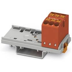 Phoenix Contact PTFIX 6X2,5-NS35 RD 3273004 Razdelilni blok 0.14 mm² 2.50 mm² Rdeča 10 KOS