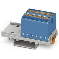 Phoenix Contact PTFIX 12X2,5-NS35 BU 3273024 Razdelilni blok 0.14 mm² 2.50 mm² Modra 8 KOS