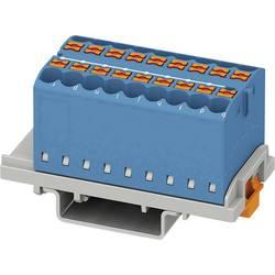 Phoenix Contact PTFIX 18X2,5-NS35 BU 3273046 Razdelilni blok 0.14 mm² 2.50 mm² Modra 8 KOS