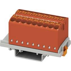 Phoenix Contact PTFIX 18X2,5-NS35 RD 3273048 Razdelilni blok 0.14 mm² 2.50 mm² Rdeča 8 KOS