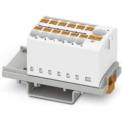 Phoenix Contact PTFIX 6/12X2,5-NS35 WH 3273100 Razdelilni blok 0.14 mm² 2.50 mm² Bela 8 KOS