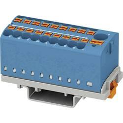 Phoenix Contact PTFIX 6/18X2,5-NS35 BU 3273112 Razdelilni blok 0.14 mm² 2.50 mm² Modra 8 KOS