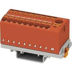 Phoenix Contact PTFIX 6/18X2,5-NS35 RD 3273114 Razdelilni blok 0.14 mm² 2.50 mm² Rdeča 8 KOS