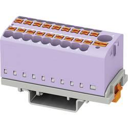 Phoenix Contact PTFIX 6/18X2,5-NS35 VT 3273126 Razdelilni blok 0.14 mm² 2.50 mm² Vijolična 8 KOS