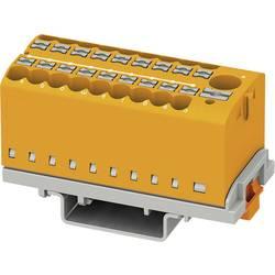 Phoenix Contact PTFIX 6/18X2,5-NS35 OG 3273128 Razdelilni blok 0.14 mm² 2.50 mm² Oranžna 8 KOS