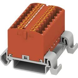 Phoenix Contact PTFIX 18X2,5-NS35A RD 3273180 Razdelilni blok 0.14 mm² 2.50 mm² Rdeča 8 KOS