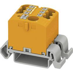 Phoenix Contact PTFIX 6/6X2,5-NS35A OG 3273216 Razdelilni blok 0.14 mm² 2.50 mm² Oranžna 10 KOS