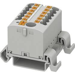 Phoenix Contact PTFIX 6/12X2,5-NS35A GY 3273220 Razdelilni blok 0.14 mm² 2.50 mm² Siva 8 KOS