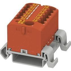 Phoenix Contact PTFIX 6/12X2,5-NS35A RD 3273224 Razdelilni blok 0.14 mm² 2.50 mm² Rdeča 8 KOS