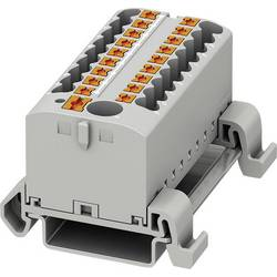Phoenix Contact PTFIX 6/18X2,5-NS35A GY 3273242 Razdelilni blok 0.14 mm² 2.50 mm² Siva 8 KOS
