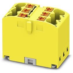 Phoenix Contact PTFIX 6X2,5 YE 3273270 Razdelilni blok 0.14 mm² 2.50 mm² Rumena 10 KOS