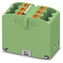 Phoenix Contact PTFIX 6X2,5 GN 3273272 Razdelilni blok 0.14 mm² 2.50 mm² Zelena 10 KOS