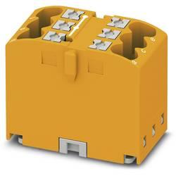 Phoenix Contact PTFIX 6X2,5 OG 3273282 Razdelilni blok 0.14 mm² 2.50 mm² Oranžna 10 KOS