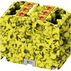 Phoenix Contact PTFIX 6X2,5-FE 3273284 Razdelilni blok 0.14 mm² 2.50 mm² Črna/rumena 10 KOS