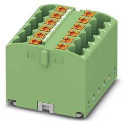 Phoenix Contact PTFIX 12X2,5 GN 3273294 Razdelilni blok 0.14 mm² 2.50 mm² Zelena 8 KOS
