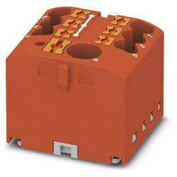 Phoenix Contact PTFIX 6/6X2,5 RD 3273334 Razdelilni blok 0.14 mm² 2.50 mm² Rdeča 10 KOS