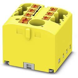 Phoenix Contact PTFIX 6/6X2,5 YE 3273336 Razdelilni blok 0.14 mm² 2.50 mm² Rumena 10 KOS
