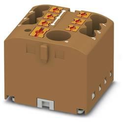 Phoenix Contact PTFIX 6/6X2,5 BN 3273340 Razdelilni blok 0.14 mm² 2.50 mm² Rjava 10 KOS
