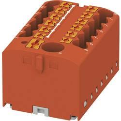 Phoenix Contact PTFIX 6/12X2,5 RD 3273356 Razdelilni blok 0.14 mm² 2.50 mm² Rdeča 8 KOS