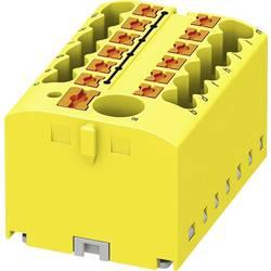 Phoenix Contact PTFIX 6/12X2,5 YE 3273358 Razdelilni blok 0.14 mm² 2.50 mm² Rumena 8 KOS