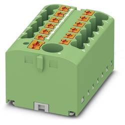Phoenix Contact PTFIX 6/12X2,5 GN 3273360 Razdelilni blok 0.14 mm² 2.50 mm² Zelena 8 KOS