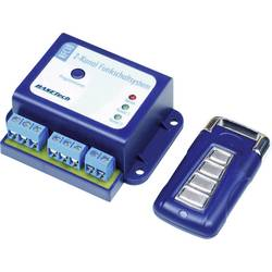 sustav za bežično upravljanje Basetech uklj. daljinski upravljač Domet (maks. u otvorenom polju): 50 m 12 V/DC