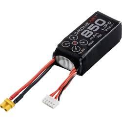 DroneArt LiPo akumulatorski paket za modele 14.8 V 850 mAh Število celic: 4 75 C Mehka torba XT30