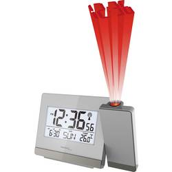 Techno Line WT538 WT 538 radijska projekcijska ura srebrna