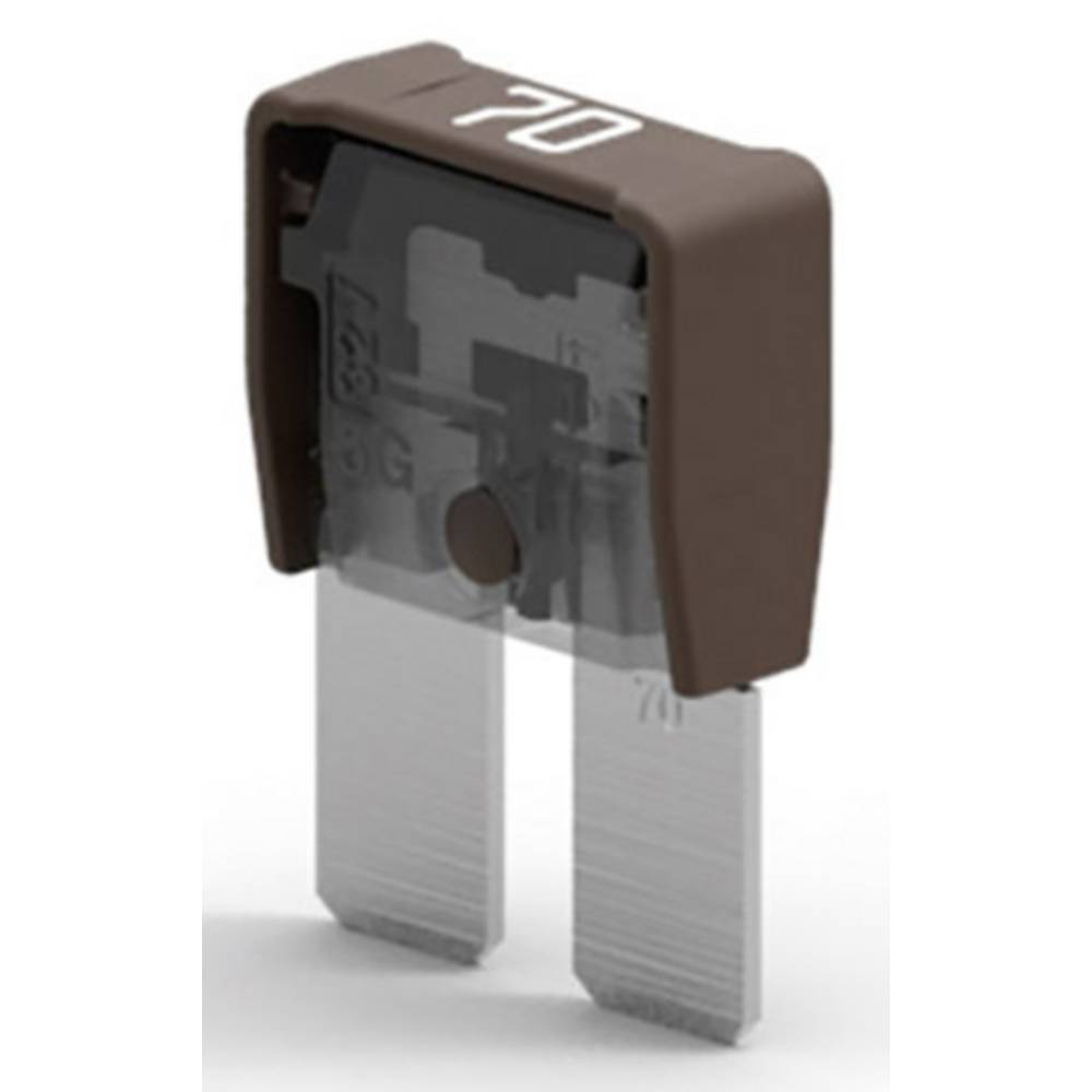 Maksi ploščata varovalka 70 A Rjava MTA M8COMPACT 70A 06.10070 1 KOS