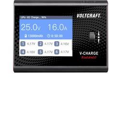 Večnamenski polnilnik akumulatorjev za modelarstvo 12 V, 24 V 16 A VOLTCRAFT V-Charge Field 400 Svinčev, LiFePO, LiHV, Litijev-i