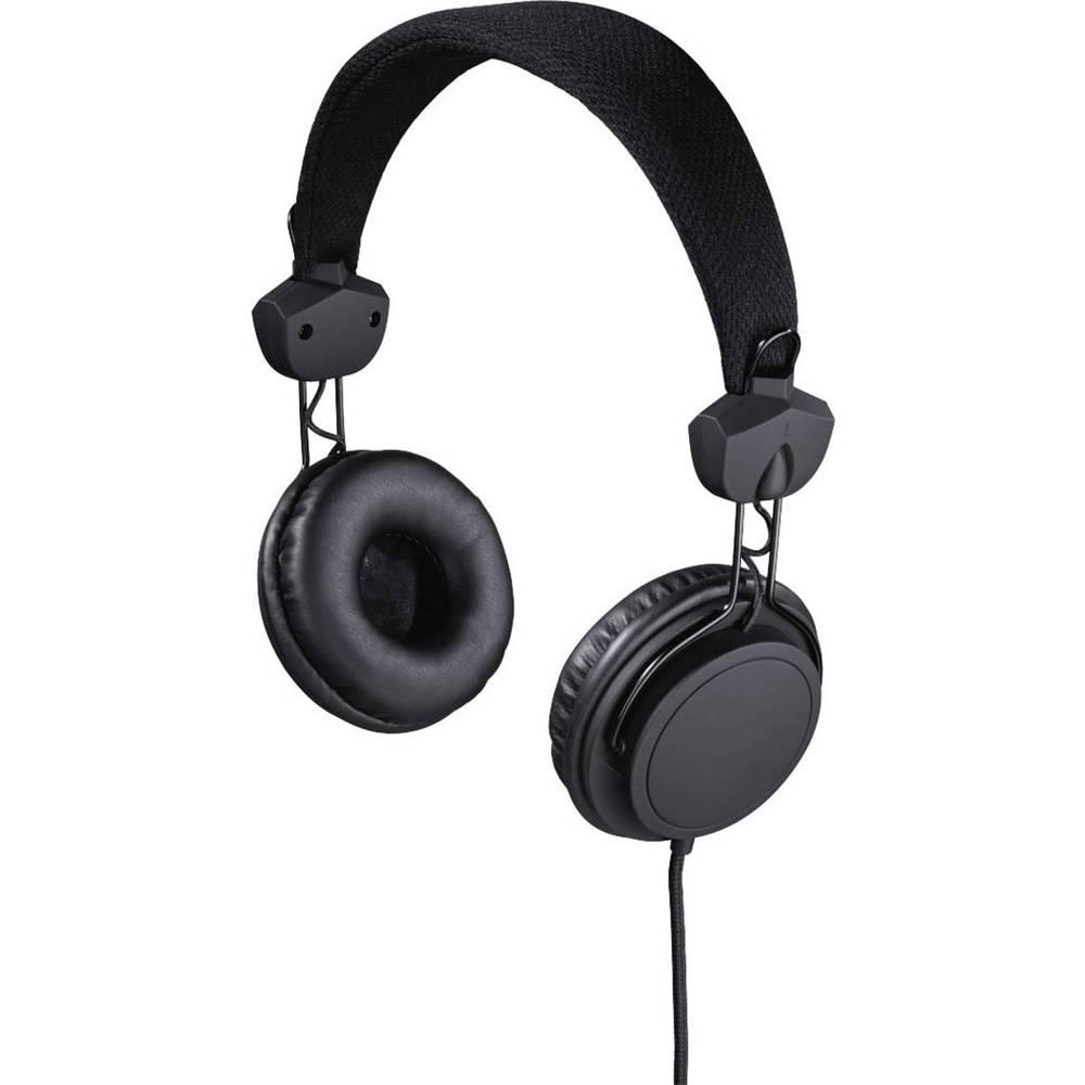 Hama Joy On Ear Naglavni komplet Črna