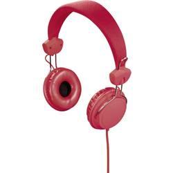 Hama Joy Naglavne slušalke On Ear Naglavni komplet Rdeča