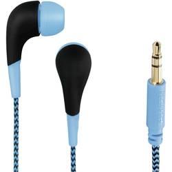 Hama Neon in ear slušalke in ear modra