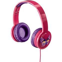 Hama Blink´n Kids otroške on ear slušalke on ear roza