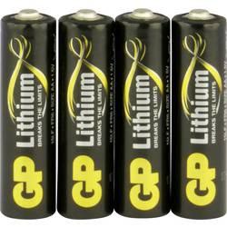 Mignon (AA)-Baterija Litijev GP Batteries Excellent FR03 1.5 V 4 KOS