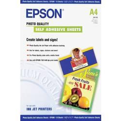 Epson Photo Quality Self Adhesive Sheets A4 C13S041106 Foto papir DIN A4 167 gm² 10 List Samolepilni