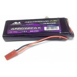 Baterija sprejemnika (LiPo) za modele 7.4 V 1400 mAh ArrowMax Palica BEC