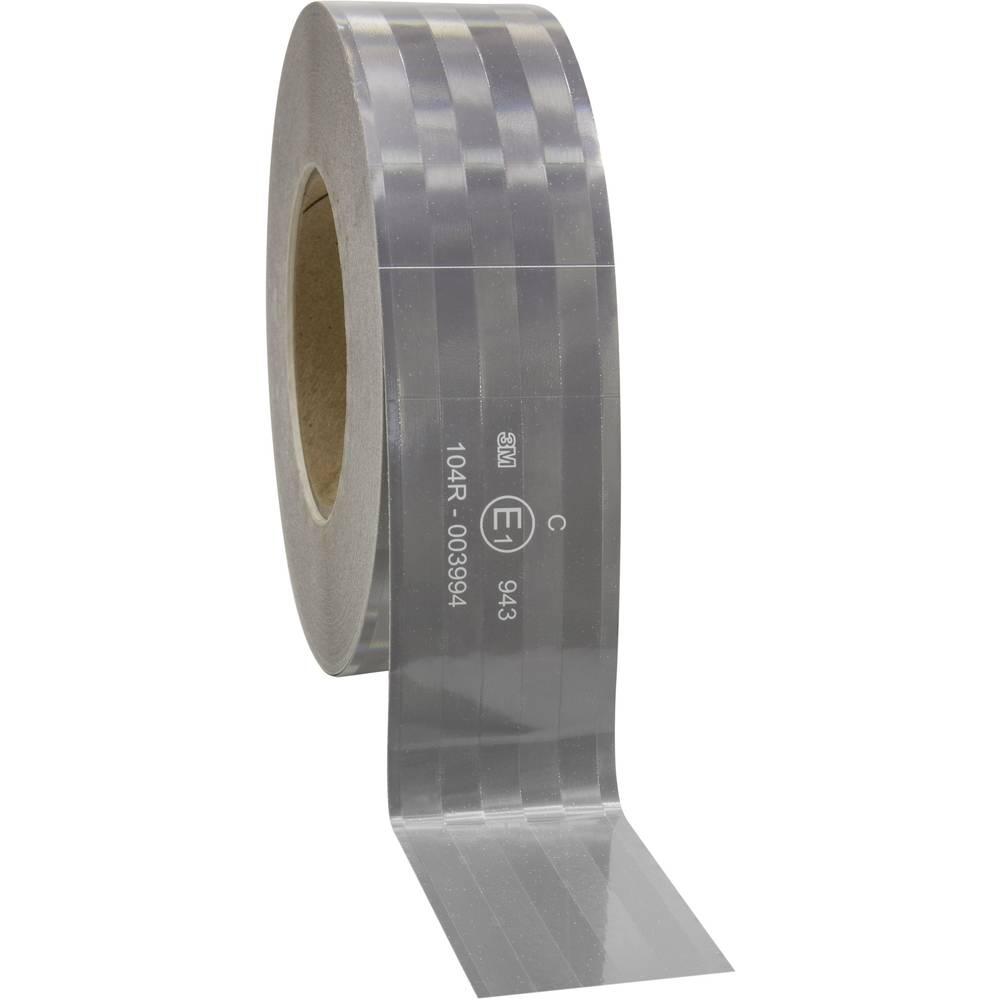 Odsevni trak za označevanje kontur 3M 943-10 743891 Bela (odsevna) (D x Š) 50 m x 50.8 mm Za fiksne strukture, Mikroprizmatičen,