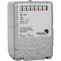 Braun Messtechnik Števec za kurilno olje HZ6 (F.T.) HW000405 1 KOS