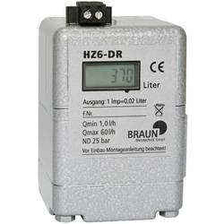 Braun Messtechnik Števec za kurilno olje HZ6 DR (F.T.) HW000406 1 KOS