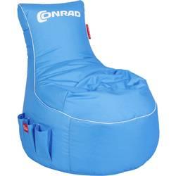 Sedalna vreča za gaming Conrad Modra, Bela