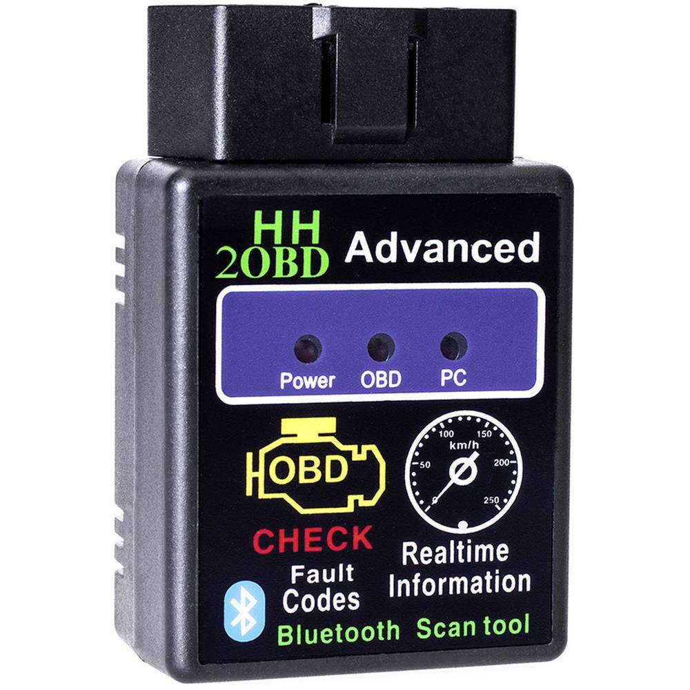 Diagnostično orodje OBD II Adapter Universe 7220 Bluetooth Diagnose Tool Scanner