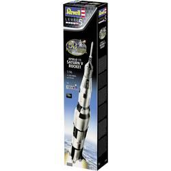Revell 03704 Apollo 11 Saturn V Rocket model vesoljskega plovila, komplet za sestavljanje 1:96