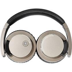 Vivanco HIGHQ AUDIO bluetooth® hifi on ear slušalke on ear zložljive, naglavni komplet, odpravljanje šumov bronasta, črna