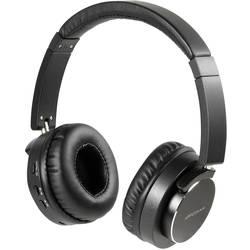 Vivanco HIGHQ AUDIO BLACK bluetooth® hifi on ear slušalke on ear zložljive, naglavni komplet, odpravljanje šumov črna