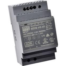 Mean Well HDR-60-5 DIN-napajanje (DIN-letva) 5 V/DC 6.5 A 32.5 W 1 x