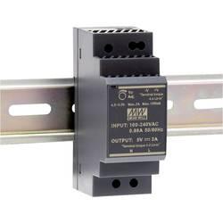 Mean Well HDR-30-5 DIN-napajanje (DIN-letva) 5 V/DC 3 A 15 W 1 x